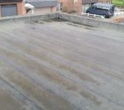 Huidige staat van het dak